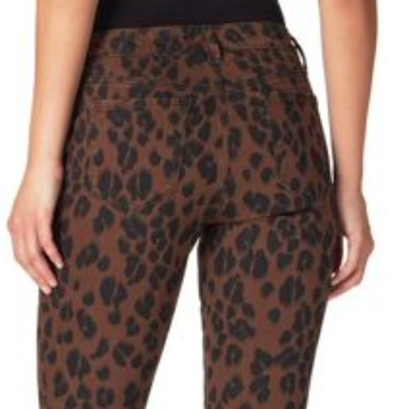 Jessica Simpson Denim - Jessica Simpson Women's Brown Leopard Stretch Jean